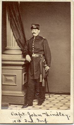 Captain John M. Lindley, 19th Indiana Regiment