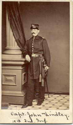 Captain John M. Lindley, 19th Indiana Regiment